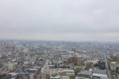 вид с воздуха от Funabashi, Японии Стоковые Фото