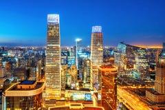 Вид с воздуха Пекина стоковая фотография rf