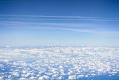 Вид с воздуха Пиренеи стоковое изображение