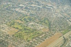 Вид с воздуха поля для гольфа Amigos Лос Стоковые Фотографии RF