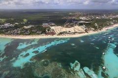 Вид с воздуха рифа сердца Стоковые Фото