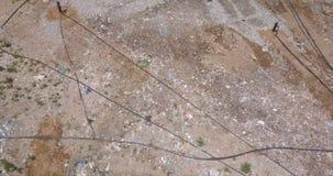 Вид с воздуха сброса сток-видео