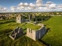 вид с воздуха Собор St Peter и Пола уравновешивание Ирландия стоковое фото rf