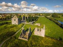 вид с воздуха Собор St Peter и Пола уравновешивание Ирландия стоковое фото