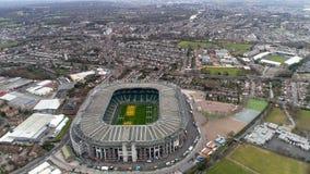 Вид с воздуха стадиона рэгби Twickenham стоковая фотография rf