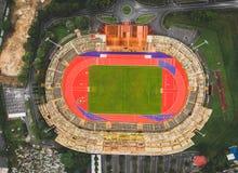 Вид с воздуха стадиона Tuanku Abdul Rahman стоковое изображение rf