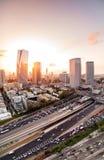Вид с воздуха телефона Aviv-Yafo, Израиля стоковые изображения rf