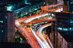 Вид с воздуха токио, Японии стоковое изображение