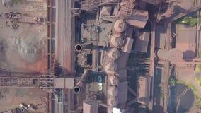 вид с воздуха фабрика старая акции видеоматериалы