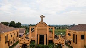Вид с воздуха церков Христоса Стоковая Фотография