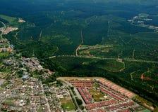 вид с воздуха стоковое фото rf