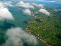 вид с воздуха Стоковое Изображение RF