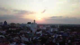 Вид с воздуха Beaeutiful Kedah Малайзии от взгляда сверху видеоматериал