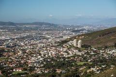 Вид с воздуха Cape Town Стоковое Изображение