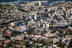 Вид с воздуха Cape Town Стоковая Фотография RF