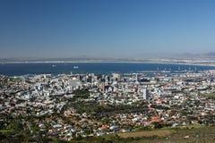 Вид с воздуха Cape Town Стоковое Изображение RF