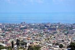 Вид с воздуха Derbent Стоковые Изображения RF