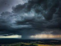 Вид с воздуха Micro разрыванный в Литве стоковое изображение