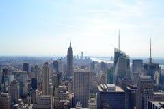 Вид с воздуха New York City, New York Стоковая Фотография