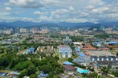 Вид с воздуха Setapak стоковая фотография