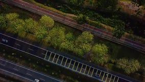 Вид с воздуха Tasik Darul Kedah Малайзии акции видеоматериалы