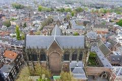 Вид с воздуха Utrecht стоковое фото