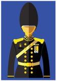 Вид формы военно-морского флота иллюстрация штока