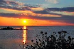 Вид Чёрного моря Стоковая Фотография