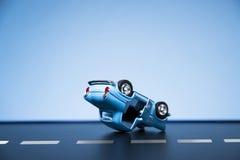 движение аварии поврежденное автокатастрофой Стоковое Фото
