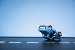 движение аварии поврежденное автокатастрофой Стоковая Фотография RF