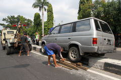 движение аварии поврежденное автокатастрофой Стоковые Фотографии RF