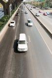 движение дороги варенья автомобилей Стоковое фото RF