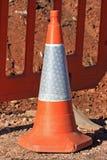 движение дороги приложения конуса цвета установленное Стоковое Изображение