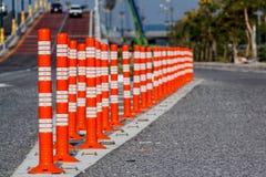 движение дороги приложения конуса цвета установленное Стоковые Фото