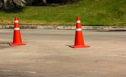 движение дороги приложения конуса цвета установленное Стоковые Изображения