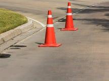 движение дороги приложения конуса цвета установленное Стоковое Фото