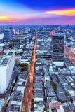 движение bangkok Стоковое Изображение