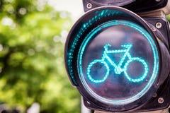 движение bikes светлое Стоковые Фото
