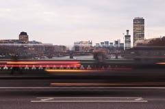 движение london Стоковое Фото