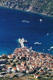 визави Хорватии Стоковое Фото