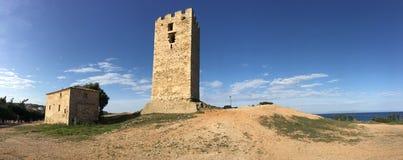 Византийская панорама башни Стоковые Фотографии RF