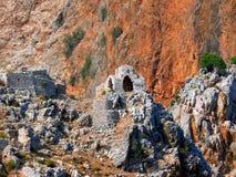 византийские руины церков Стоковое фото RF