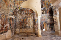 византийские peribletos mystras скита стоковые изображения rf