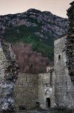 Византийский монастырь на Mount Olympus, Греции Стоковая Фотография RF
