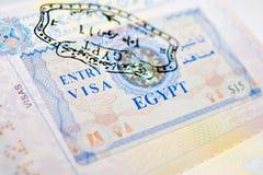 виза Египета Стоковые Фото
