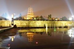 визирование ночи башни Da-yan Стоковое фото RF