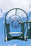 визирование пушки воздушных судн anti Стоковое Изображение RF
