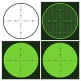 визирование пушки crosshair Стоковое Изображение RF