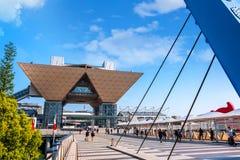 Визирование токио большое в Odaiba, токио, Японии Стоковое Фото