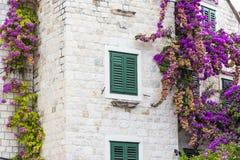 Визирования Хорватии Красивое разделение города хорватский рай diocletian дворец Стоковая Фотография
